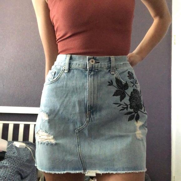 rag & bone Dresses & Skirts - Rag & Bone Demin Skirt